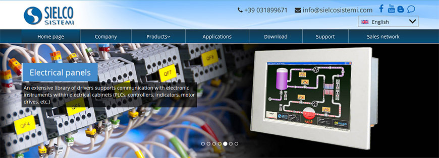 New Winlog SCADA website